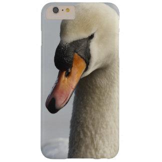 Vancouver, parque de Stanley, cisne mudo (olor del Funda De iPhone 6 Plus Barely There