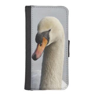 Vancouver, parque de Stanley, cisne mudo (olor del Billetera Para Teléfono