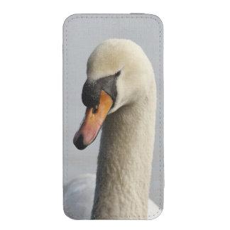 Vancouver, parque de Stanley, cisne mudo (olor del Funda Acolchada Para iPhone
