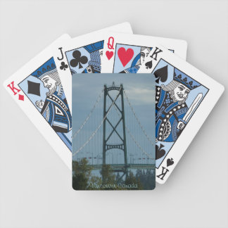 Vancouver Playing Cards Lions Gate Souvenirs