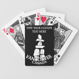 Vancouver Playing Cards Personalize Vancouver Card