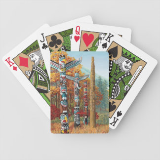 Vancouver Playing Cards Totem Poles Cards