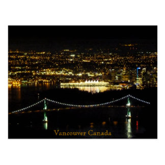 Vancouver Postcards Lions Gate Personalized Card
