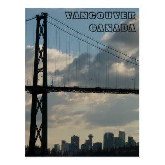 Vancouver Postcards Vancouver Lions Gate Postcards