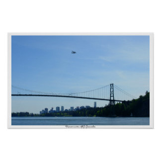 Vancouver Poster Lions Gate Art Prints & Poster