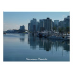 Vancouver Poster Print Vancouver Cityscape Print