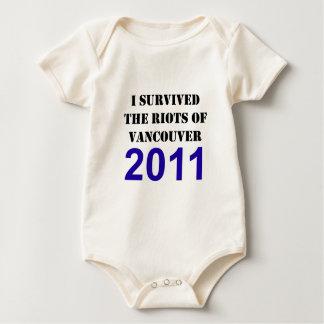 Vancouver Riot Survivor Baby Bodysuit