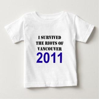 Vancouver Riot Survivor Baby T-Shirt
