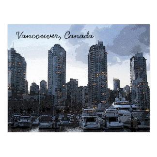 Vancouver Riverside Postcard