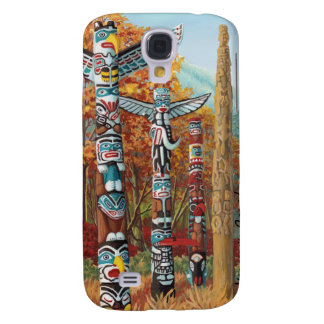 Vancouver Samsung Galaxy S4 Case Totem Pole Art