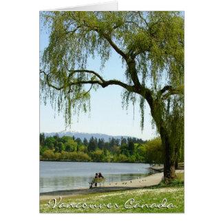 Vancouver Seasons Cards Print Canada Souvenir