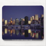 Vancouver skyline, British Columbia, Canada Mousepads