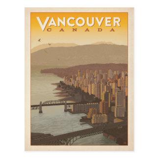 Vancouver Skyline   Canada Postcard