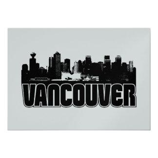 Vancouver Skyline Card