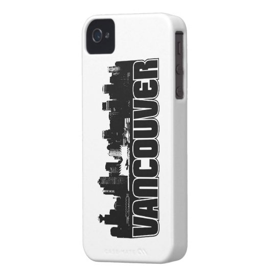 Vancouver Skyline iPhone 4 Case