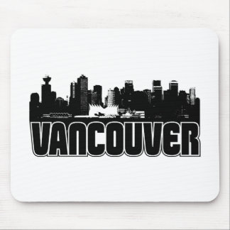 Vancouver Skyline Mouse Pad