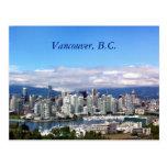 Vancouver Skyline Post Cards