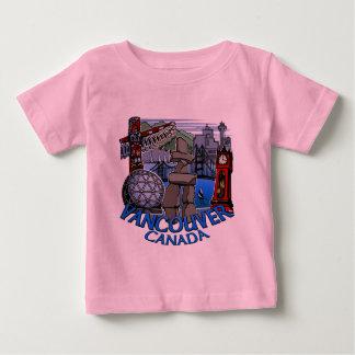 Vancouver Souvenir Baby T-shirts Landmark Baby Tee