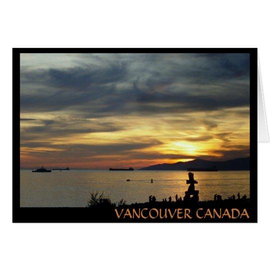 Vancouver Souvenir Cards Vancouver Landscape Cards