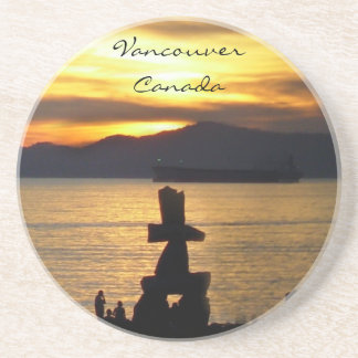 Vancouver Souvenir Coasters Vancouver Sunset Gifts