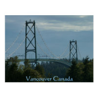 Vancouver Souvenir Postcards Lions Gate Postcards