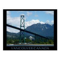 Vancouver Souvenir Postcards Lions Gate Postcards