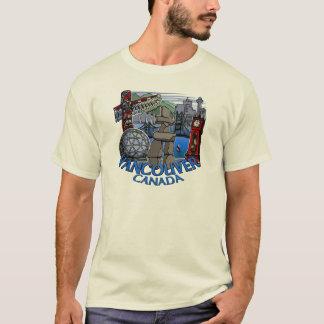 Vancouver Souvenir T-shirt Vancouver Art T-shirt