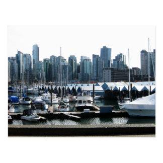 Vancouver Stanley Park Postcard