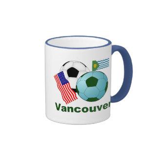 Vancouver Taza De Dos Colores