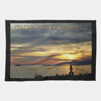 Vancouver Towel Personalized Vancouver Tea Towel