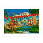 Vancouver, Washington - Large Letter Scenes Postcard