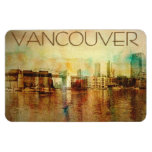 Vancouver Water Color Magnet at Zazzle