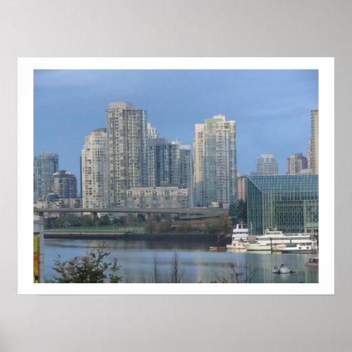 Vancouver's False Creek Poster