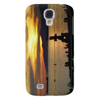 VancouverSamsung Galaxy S4 Case Inukshuk Sunset