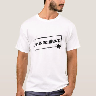 Vandal☆ (Black Spray Box) T Shirt