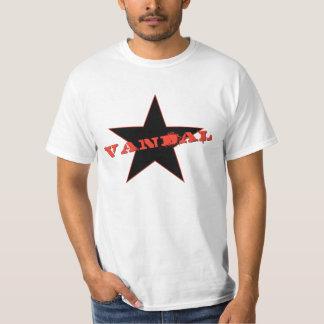 Vandal☆ (Red Spray / Black Star) T-Shirt