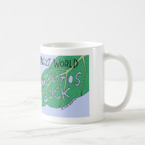 Vandalism in the insect world coffee mug