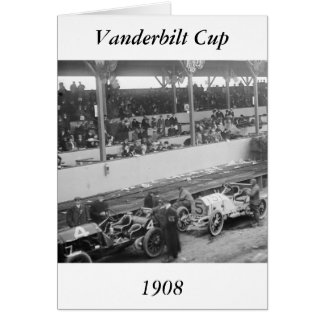 Vanderbilt Cup, 1908 Card