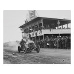 Vanderbilt Cup Auto Race, 1908 Poster