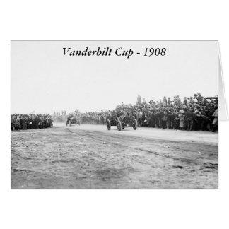 Vanderbilt Cup Auto Race, early 1900s Card