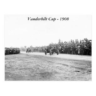 Vanderbilt Cup Auto Race, early 1900s Postcard