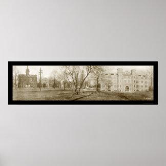 Vanderbilt University Photo 1909 Print