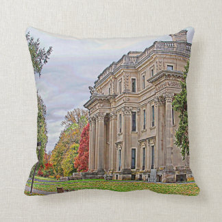 Vanderbuilt Mansion Throw Pillow