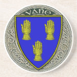 Vane Family Arms Drink Coaster