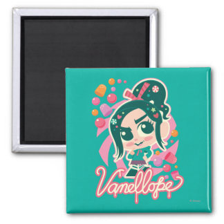 Vanellope 2 Inch Square Magnet