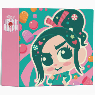 Vanellope 3 Ring Binder