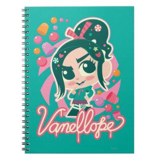 Vanellope Spiral Notebook