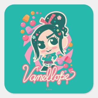 Vanellope Square Sticker