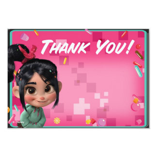 Vanellope Thank You Cards