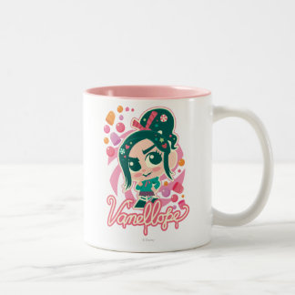 Vanellope Two-Tone Coffee Mug